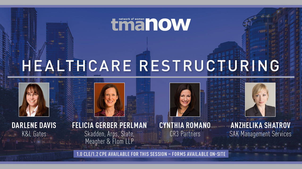 2019 NOW Summit Healthcare Restructuring Panel