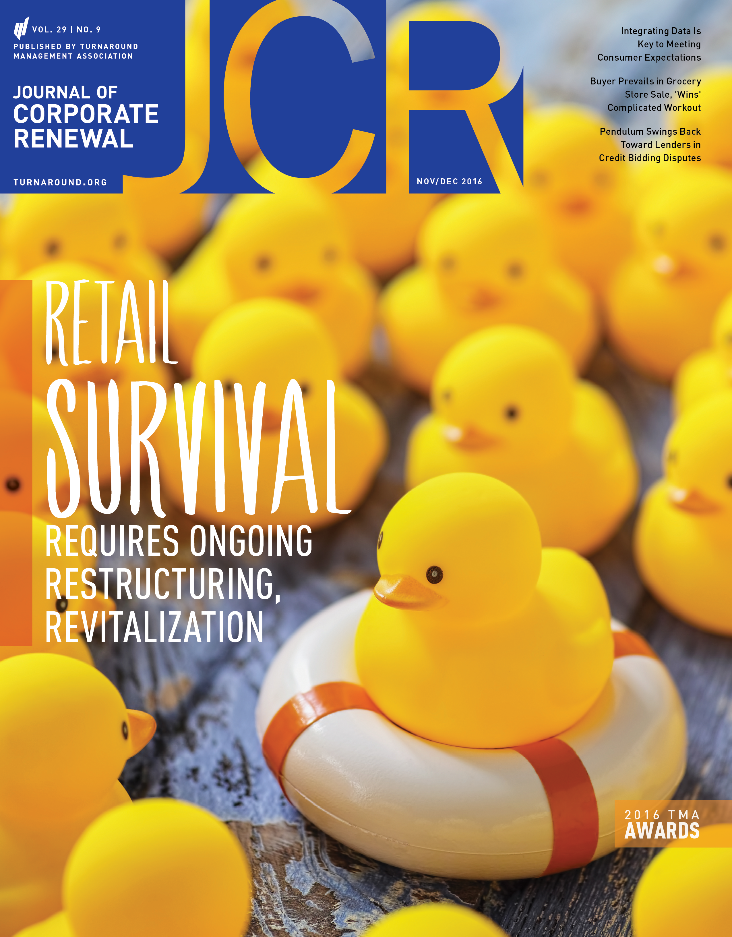 November/December 2016 Journal of Corporate Renewal