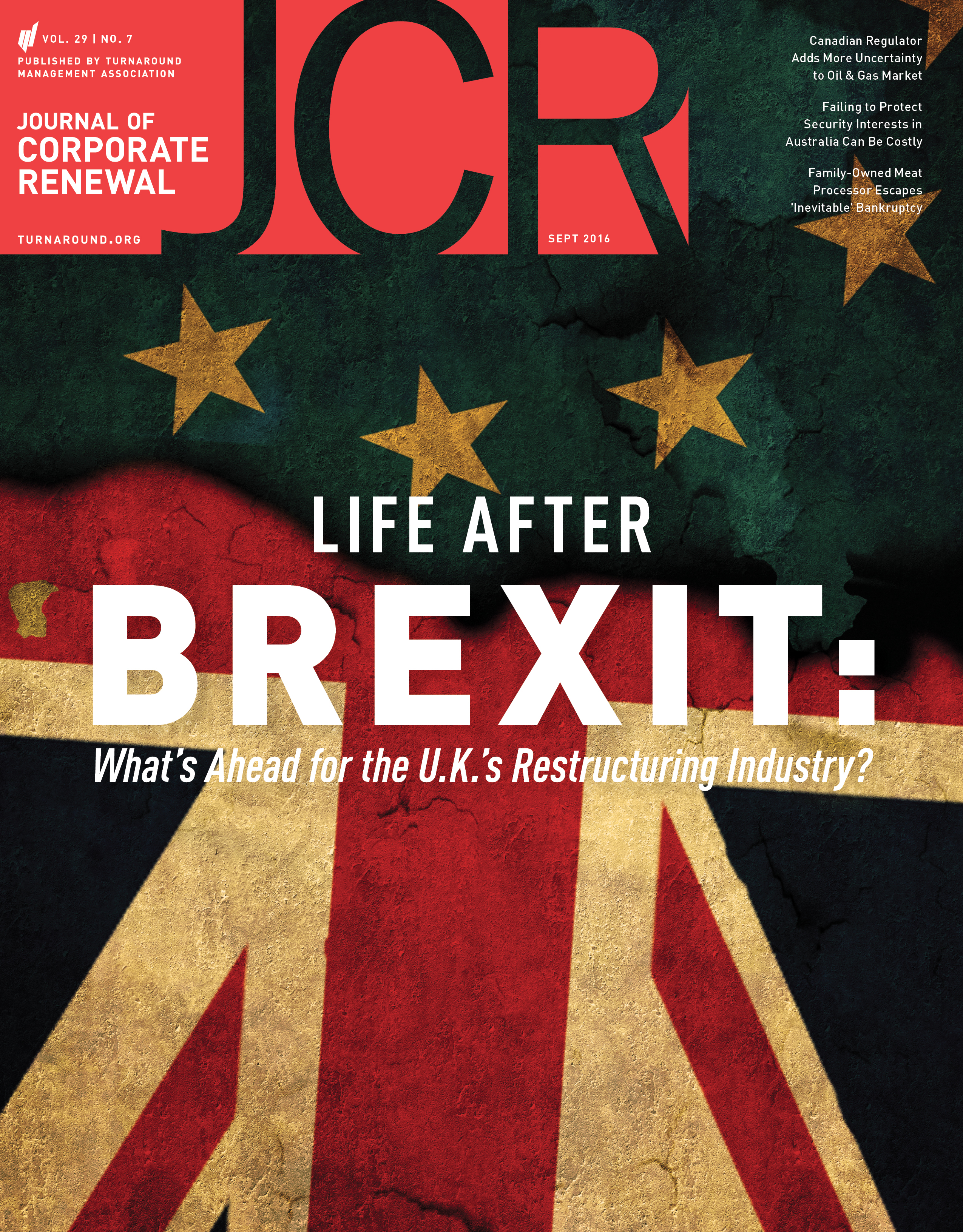 September 2016 JCR, Journal of Corporate Renewal