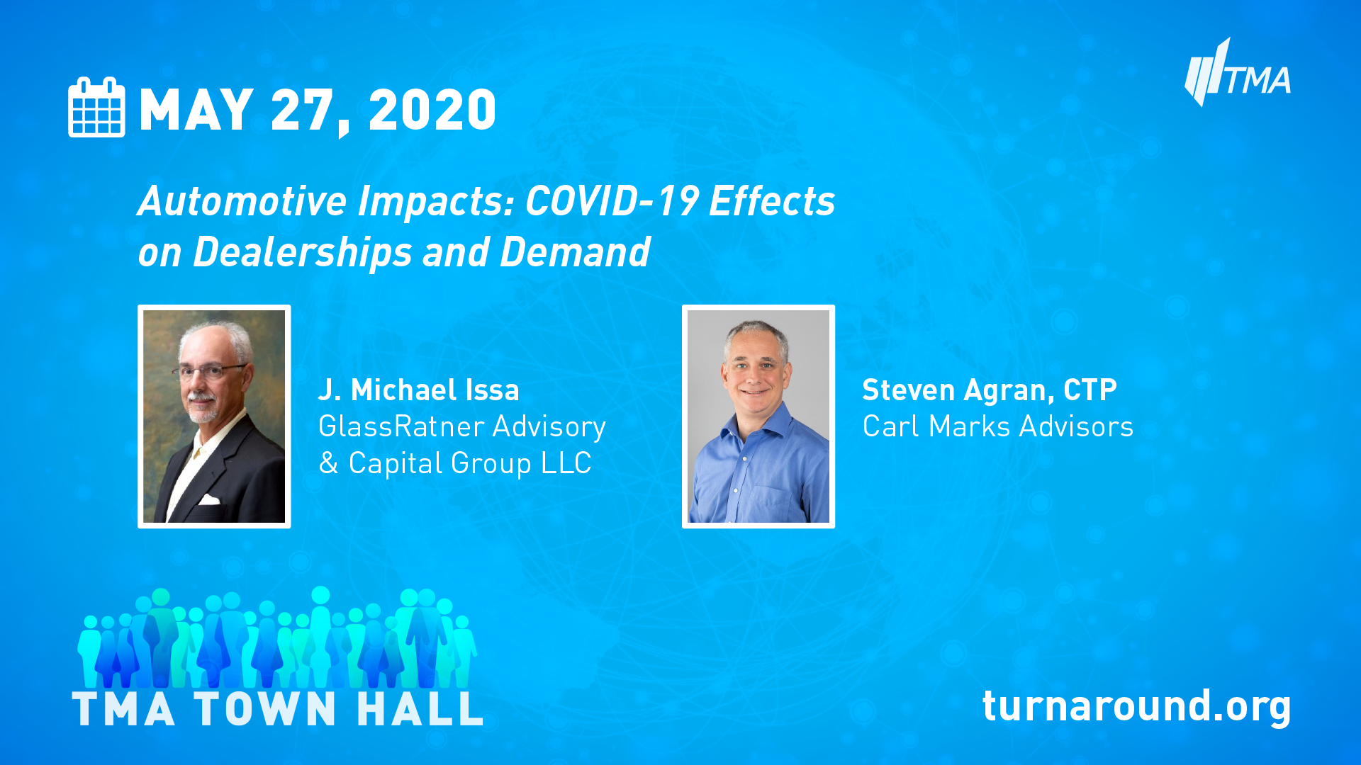 TMA Town Hall for May 27, 2020