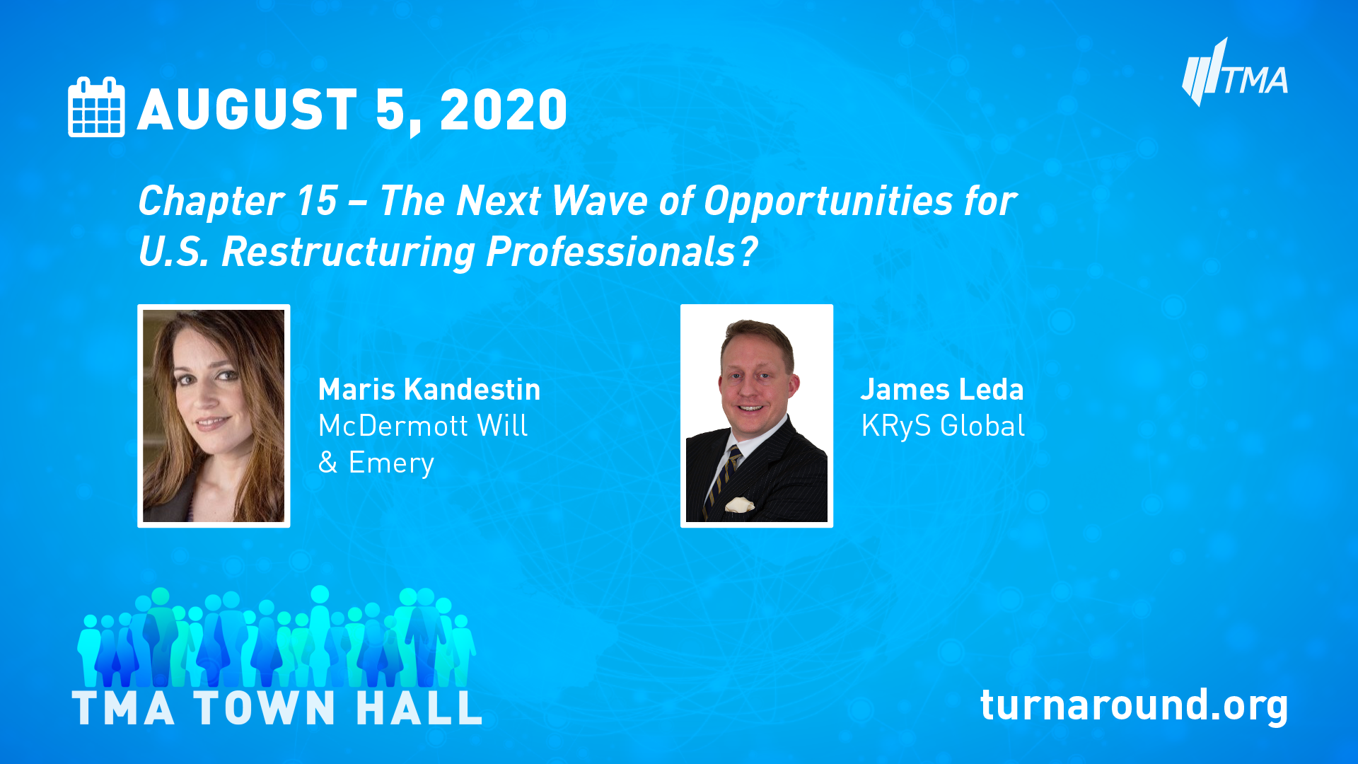 TMA Town Hall for August 5, 2020