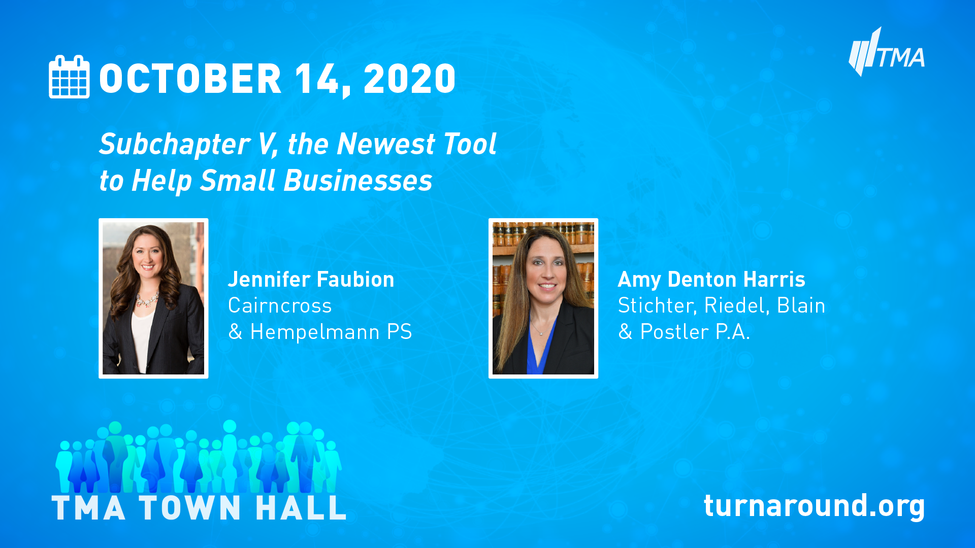 TMA Town Hall for October 14, 2020