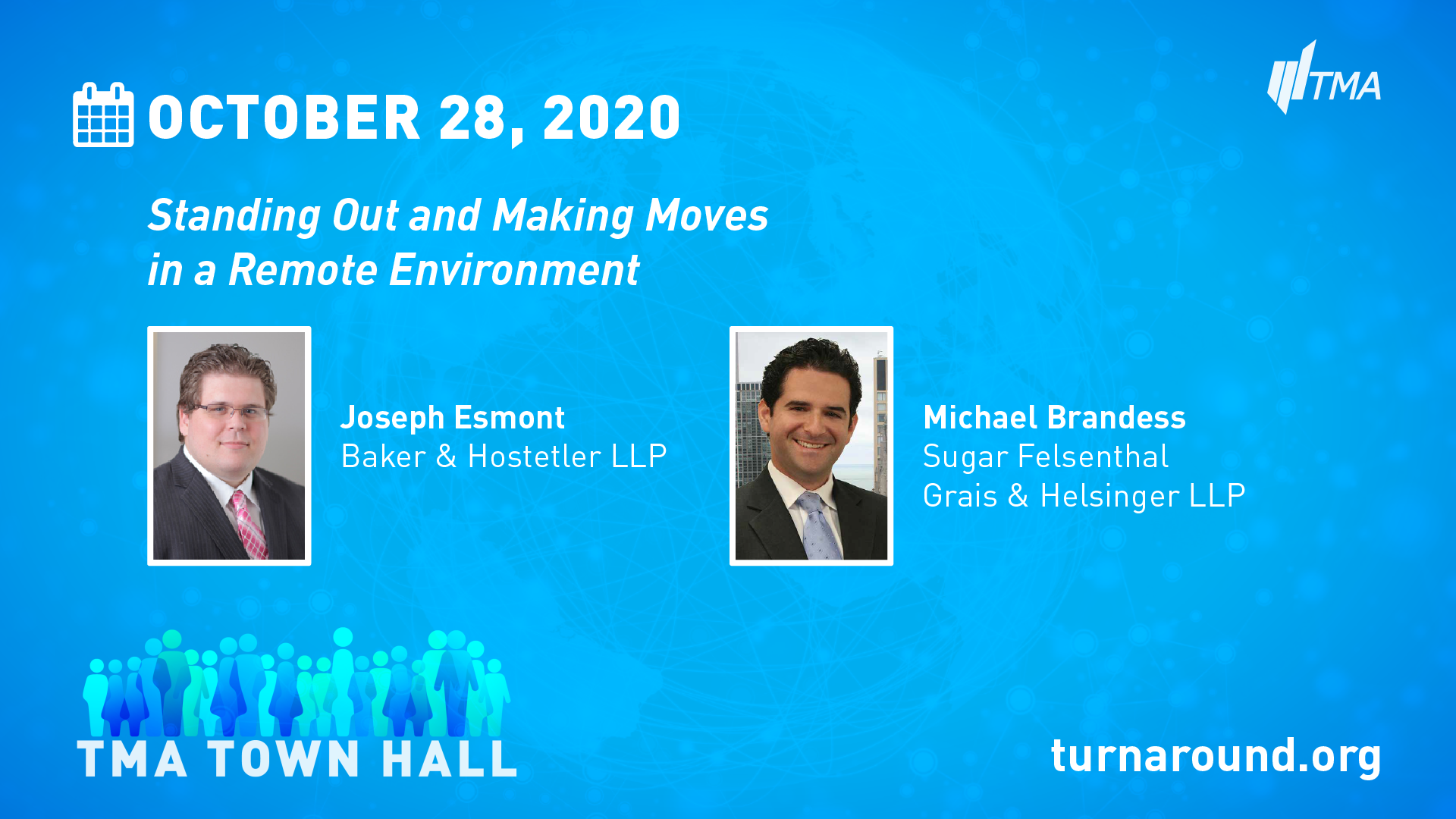 TMA Town Hall for October 28, 2020