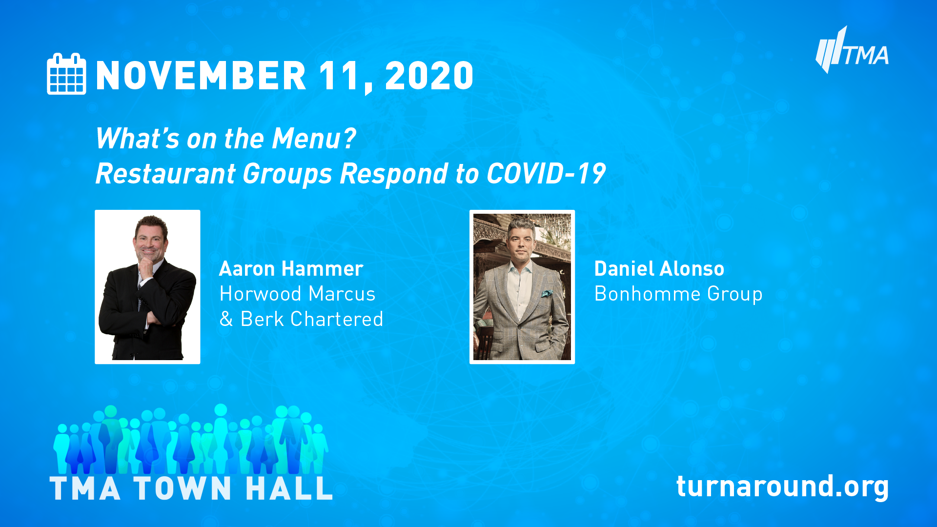 TMA Town Hall for November 11, 2020