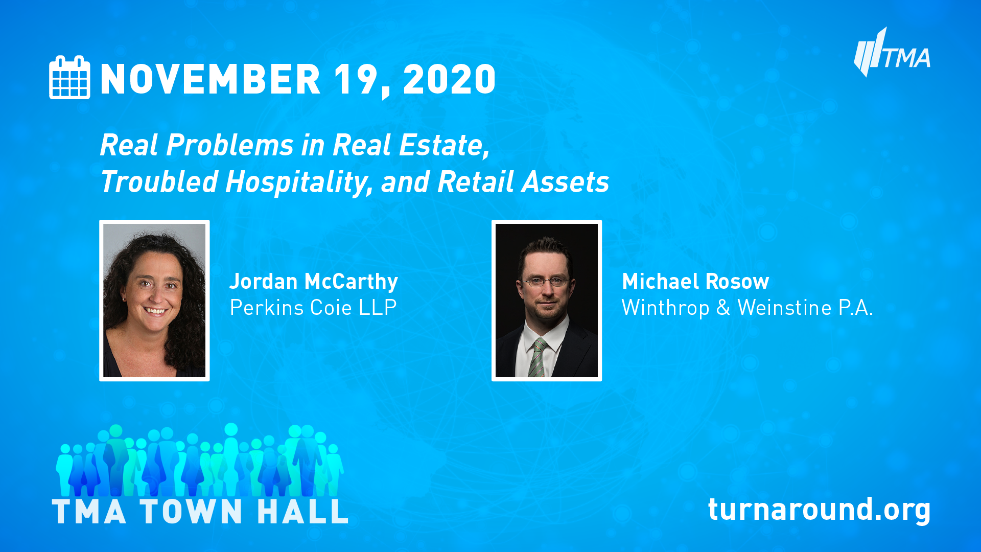 TMA Town Hall for November 19, 2020