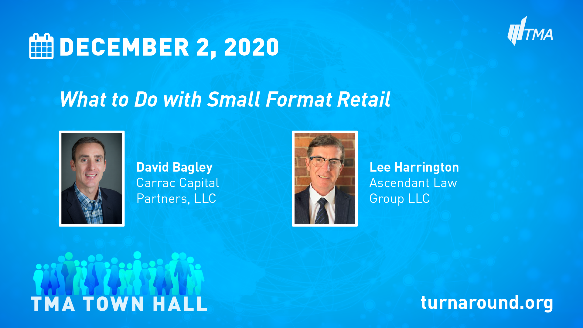 TMA Town Hall for December 2, 2020