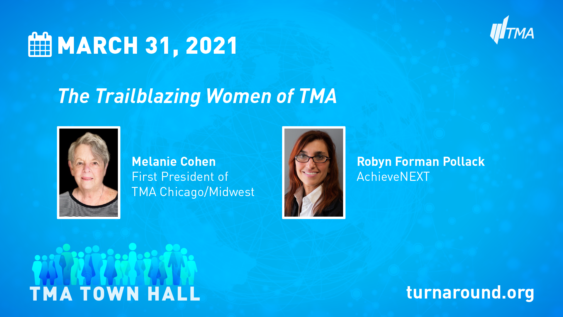 TMA Town Hall for March 31, 2021