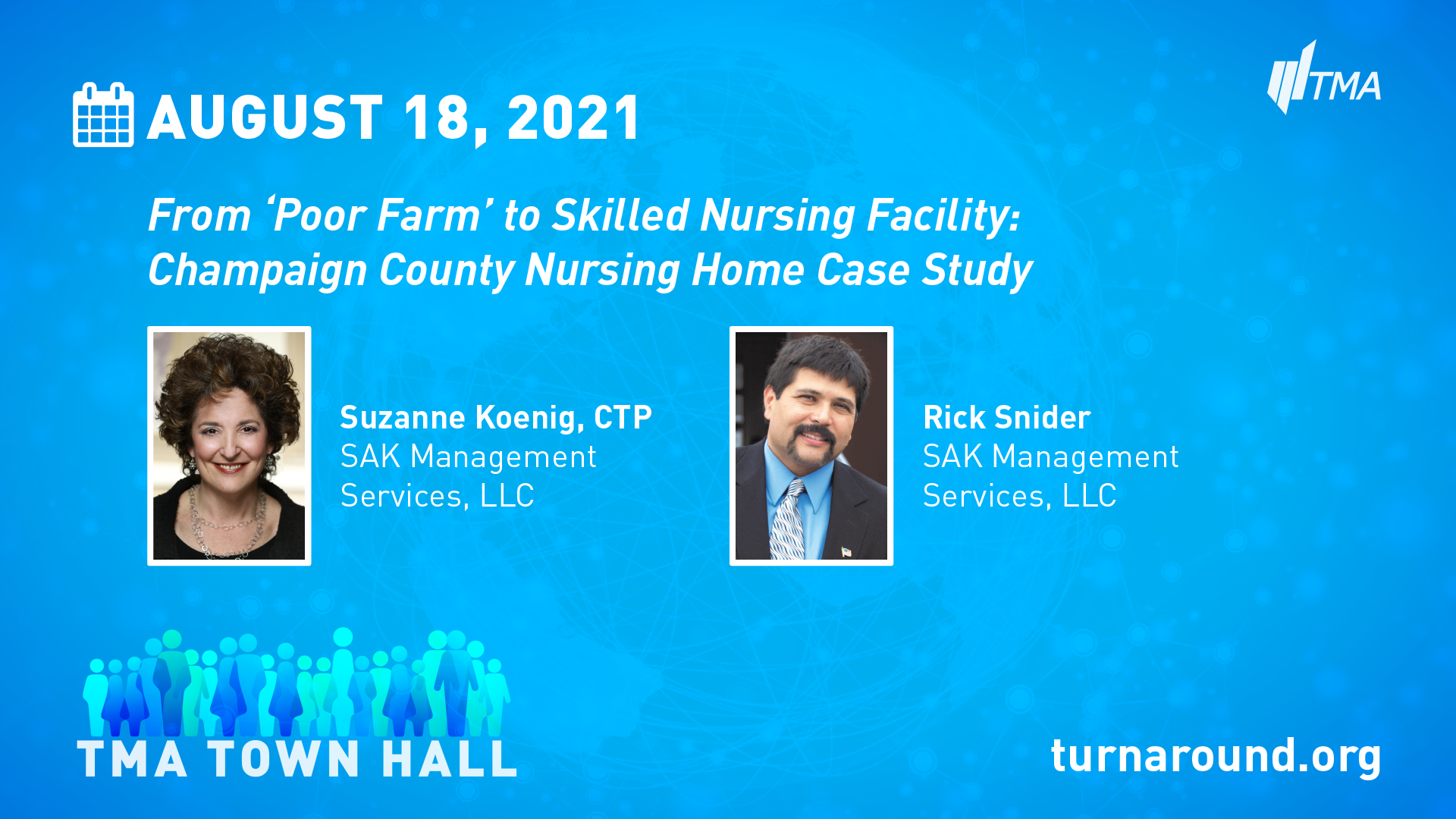 TMA Town Hall for August 18, 2021