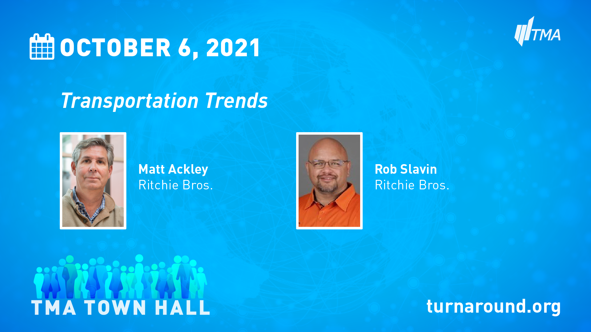 TMA Town Hall for October 6, 2021