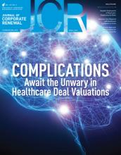 April 2015 JCR, Healthcare